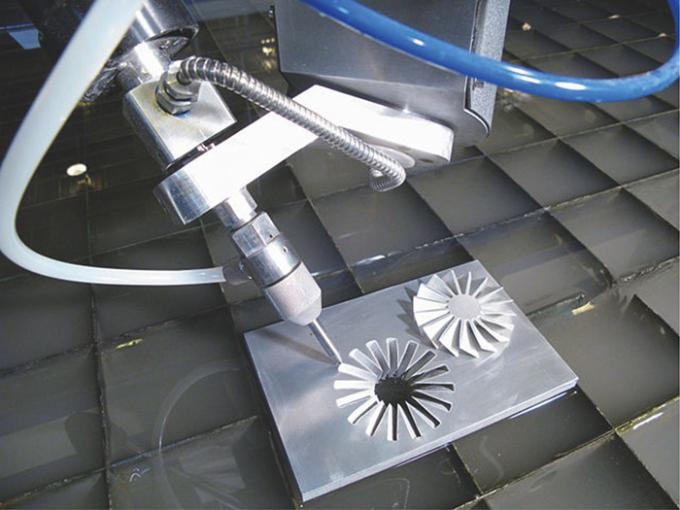 Max Series 5 Axis CNC Water jet cutting machine with cutting size 3000*8000mm