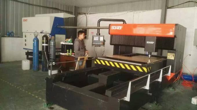 Mild steel and stainless steel CO2 Die Board Laser Cutting Machine with laser power 1000W