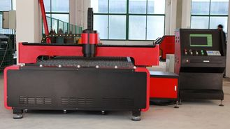 चीन 500W Steel CNC Fiber Laser Cutting Machine , Cutting Size 1500 × 3000mm आपूर्तिकर्ता