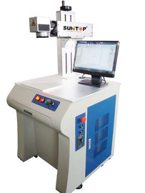 चीन Nameplate / Scutcheon Fiber Handheld Laser Marker with Air Cooling System आपूर्तिकर्ता