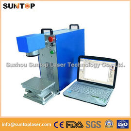चीन Gears portable fiber laser marking machine small portable model वितरक