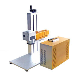 चीन Plate and animal ear tag portable fiber laser marking machine CE वितरक