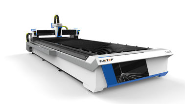 चीन 2000W Fiber laser cutting machine with table effective cutting size 1500*6000mm फैक्टरी