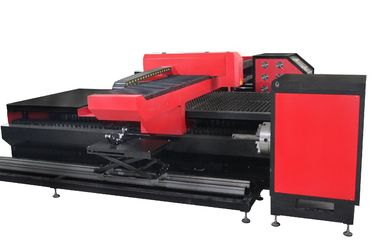 चीन Silicon Steel , Spring Steel YAG Laser Cutting Machine for Sheet Metal and Round Tube Cutting फैक्टरी