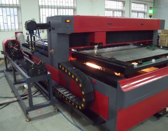 चीन Metal Pipe and Round Tube 650 Watt  YAG Laser Cutting Machine for Metal Structure फैक्टरी
