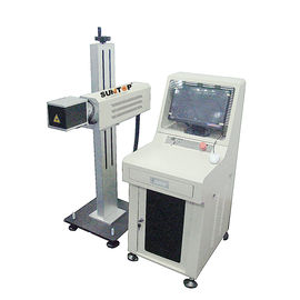 चीन 10W CO2 Laser Marking Machine For Electronic Components Industry 220V / 50HZ फैक्टरी