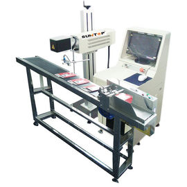 चीन 30W CO2 Laser Marking Machine for Production Date Marking , Industrial Laser Engraver वितरक