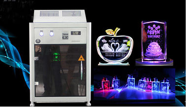 चीन 4000HZ 3D Crystal Laser Inner Engraving Machine 220,000 dots / Minute Speed वितरक